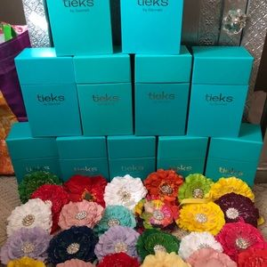 Tieks Boxes, Flowers and Black Travel Bags